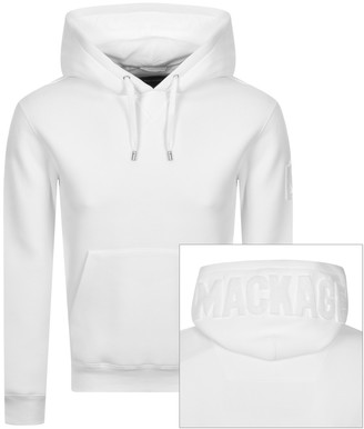 Mackage Krys Fleece Hoodie White