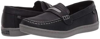 Kenneth Cole Reaction Simon Boat (Little Kid/Big Kid) (Black) Boy's Shoes