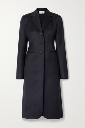 The Row Panois Wool-twill Coat - Navy