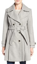 Jessica Simpson Fit & Flare Trench Coat