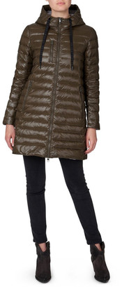Skin and Threads Longline Puffer Jacket