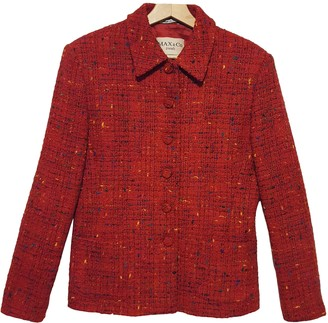 Max & Co. Red Wool Jacket for Women