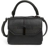Danielle Nicole Mini Harlow Faux Leather Satchel - Black