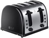 Russell Hobbs Legacy Black 4 Slot Toaster