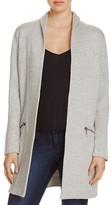 Nic+Zoe Modernist Heathered Open Front Jacket