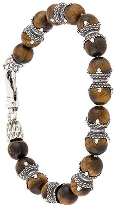 Emanuele Bicocchi Tiger Eye beaded bracelet