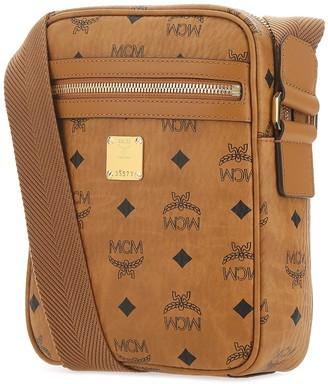 MCM Visetos Motif Crossbody Bag