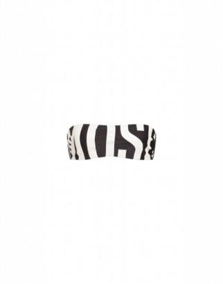 Moschino Maxi Logo Bikini Top Woman Black Size 1 It - (4 Us)