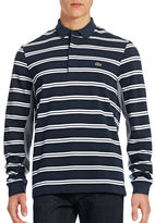 Lacoste Contrast-Stripe Rugby Shirt