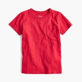 J.Crew Boys' slub pocket T-shirt