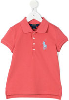 Ralph Lauren logo polo shirt - kids - Cotton/Spandex/Elastane - 2 yrs