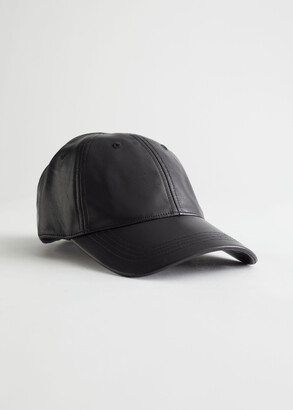 And other stories Leather Baseball Cap