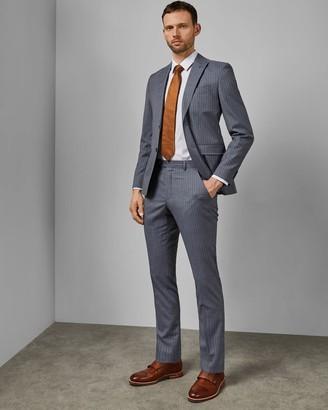 Ted Baker Debonair Stripe Wool Suit Trousers