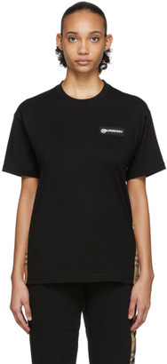 Burberry Black Carrick T-Shirt