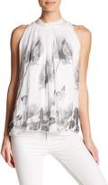 Luma Floral Print Silk Tank