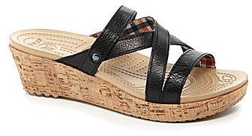 Crocs A-Leigh Wedge Sandals
