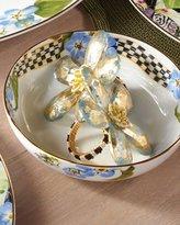 Mackenzie Childs MacKenzie-Childs Thistle & Bee Soup Bowl