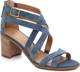 Franco Sarto Women's Hachi Sandal -Blue