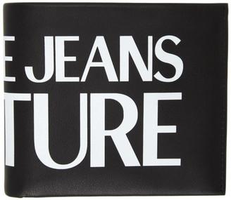 Versace Black Logo Wallet