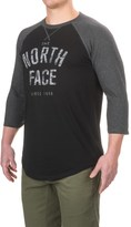 The North Face Varsity Club T-Shirt - Crew Neck, 3/4 Sleeve (For Men)