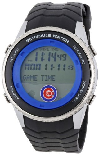 Game Time MLB Men's Schedule Series Chicago Cubs Watch #MLB-SW-CHI