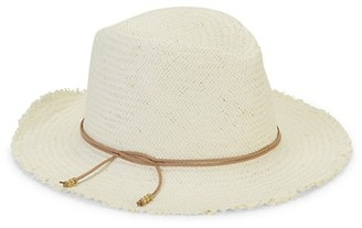Hat Attack Fringe Travel Woven Fedora