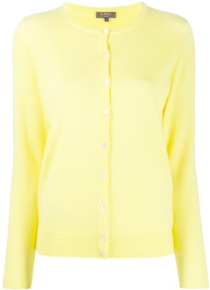 N.Peal Round Neck Cashmere Cardigan