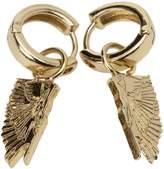 Marcelo Burlon Wings Pendant Earrings