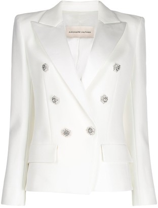 Alexandre Vauthier Slim-Fit Double-Breasted Blazer