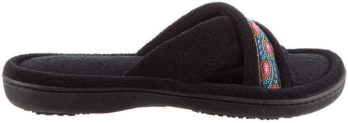 Micro Terry X Slide Slip-On Slippers