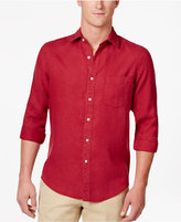 Club Room Men's Linen Shirt, Only at Macy's