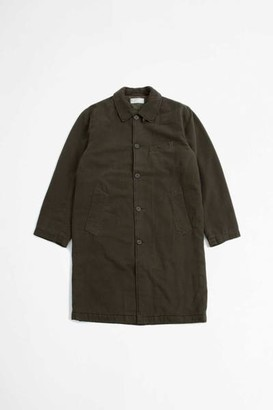 Universal Works Insulated Overcoat Quilt Olive - S