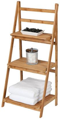 Creative Bath Bamboo Folding Ladder Tower