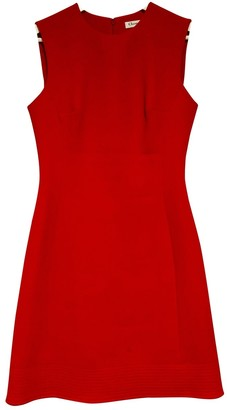Christian Dior Red Wool Dresses