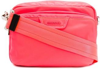 Diesel zipped crossbody bag