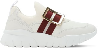 Bally 30mm Leather Slip-on Sneakers