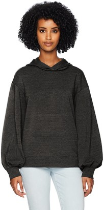 Daily Ritual Amazon Brand Women's Terry Cotton and Modal Hoodie