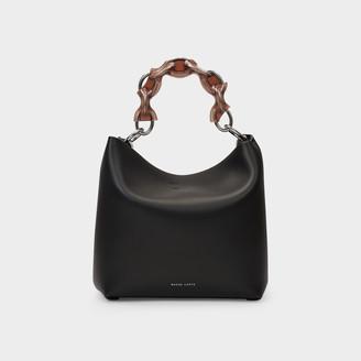 Danse Lente Handbag Ela In Black Leather