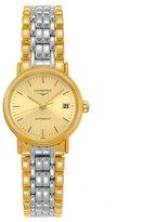 Longines Women's 25mm 18k And Steel Bracelet Automatic Watch L43212327