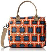 Orla Kiely Love Birds Print Zip Messenger Bag