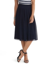 White House Black Market Soft Pleated Skirt