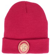 Supertrash Pink Knitted Beanie