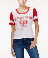 Freeze 24-7 Juniors' England Graphic T-Shirt