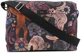 Paul Smith monkey print messenger bag