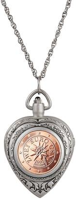 American Coin Treasures Austrian 2 Euro Coin Watch Pendant