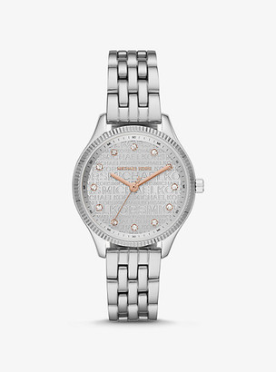 Michael Kors Lexington Two-Tone Watch - Silver