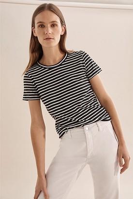 Country Road Stripe Cotton Slub T-Shirt