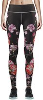 Zipravs Flower Womens Yoga Clothes Compression Leggings Running Pants