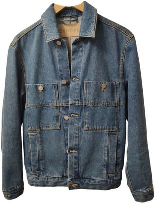 Etudes Studio Blue Denim - Jeans Jackets