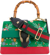 Gucci large Dionysus floral embellished bag - women - Wood/Leather/Polyester/Brass - One Size